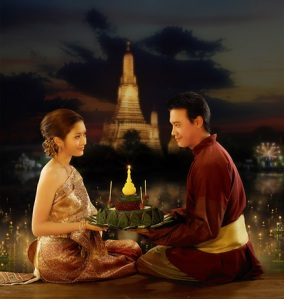 Thailand Loy kratong Festival
