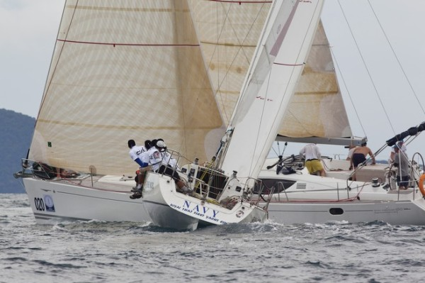 'Phuket King's Cup 2011 - Navy, incoming!'    Guy Nowell ©