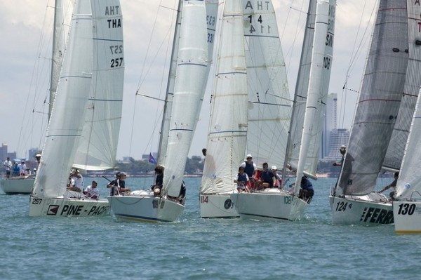 Photo by Guy Nowell/ Top of the Gulf Regatta.  sail-world.com
