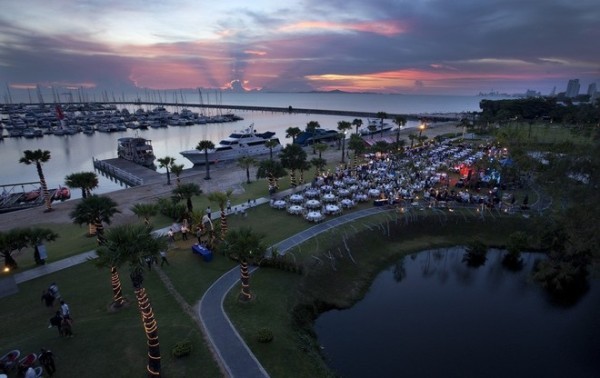 Big expansion plans underway at Ocean Marine Yacht Club, host of the Top of the Gulf Regatta. Photo by Guy Nowell/ Top of the Gulf Regatta. -  Guy Nowell
