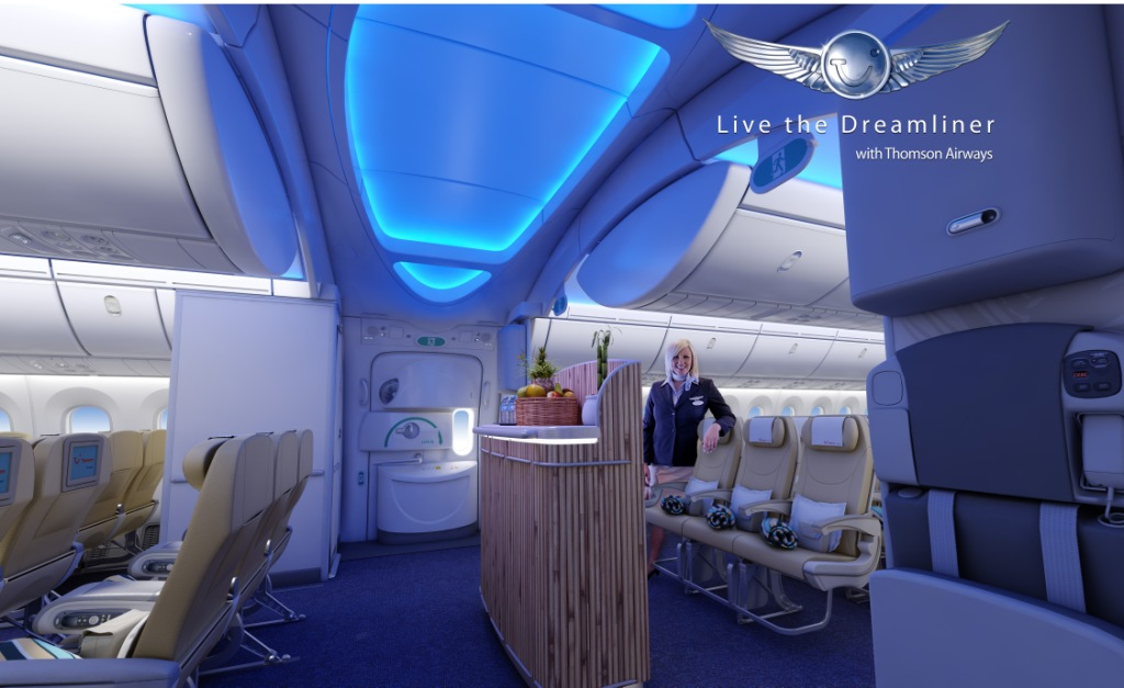 Thomson airways to serve phuket with dreamliner for Avion jetairfly interieur
