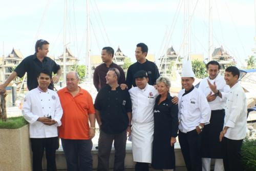 SOMETHING IS COOKING: A selection of Phuket's best chefs have dreamed up a great gourmet experience for the event. Photo: Marc Mulloy