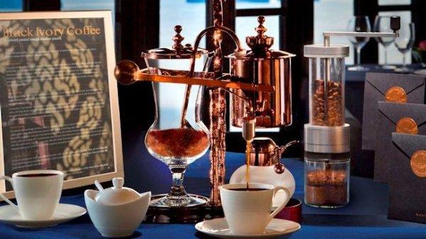 Conrad-Koh-Samui-Black-Ivory-Elephant-Coffee